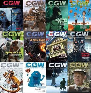 Computer Graphics World Magazine January-December 2009 (All Issues)
