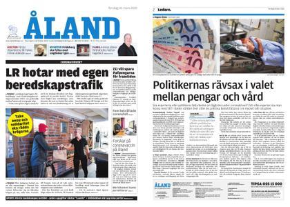 Ålandstidningen – 26 mars 2020