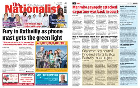 The Nationalist – April 09, 2019