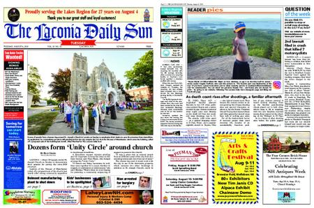 The Laconia Daily Sun – August 06, 2019