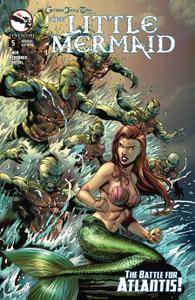 Grimm Fairy Tales Presents The Little Mermaid 0052015 2 covers Digi-Hybrid