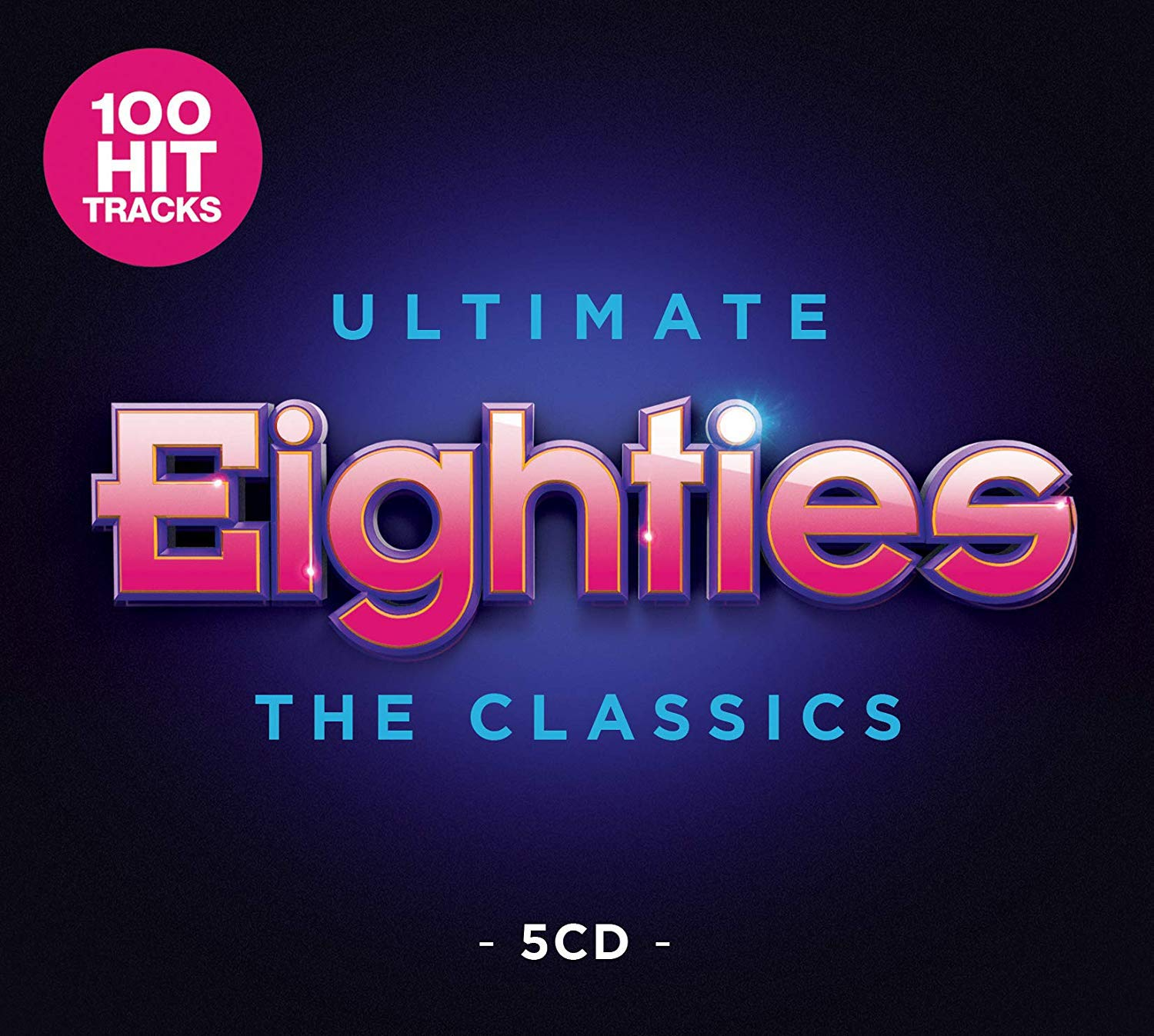 VA - Ultimate Eighties The Classics (5CD, 2019)