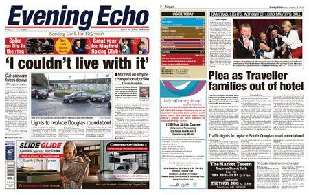 Evening Echo – January 19, 2018