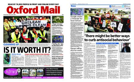 Oxford Mail – February 27, 2019