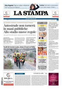 La Stampa Torino Provincia e Canavese - 21 Agosto 2018