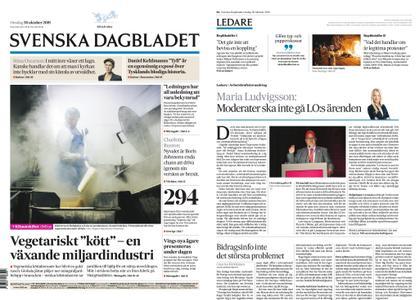 Svenska Dagbladet – 30 oktober 2019