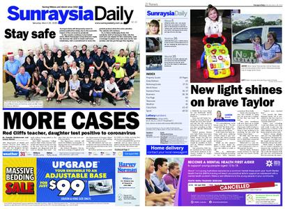 Sunraysia Daily – March 28, 2020