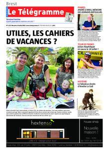 Le Télégramme Landerneau - Lesneven – 14 juillet 2019
