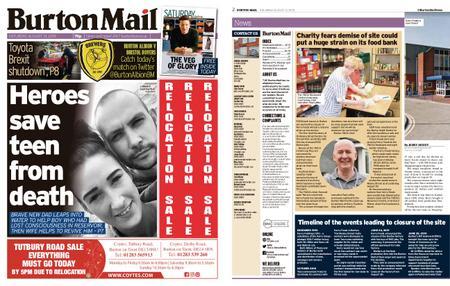 Burton Mail – August 31, 2019