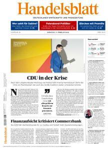 Handelsblatt - 11 Februar 2020