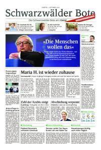 Schwarzwälder Bote Blumberg - 01. September 2018