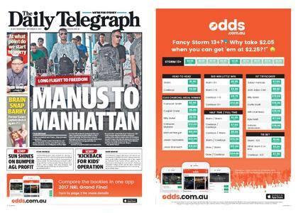 The Daily Telegraph (Sydney) – September 27, 2017