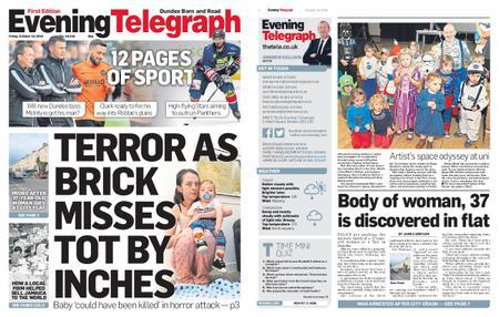 Evening Telegraph First Edition – October 19, 2018