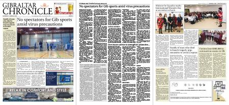 Gibraltar Chronicle – 07 March 2020