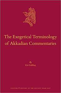 The Exegetical Terminology of Akkadian Commentaries