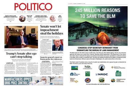 Politico – December 10, 2019