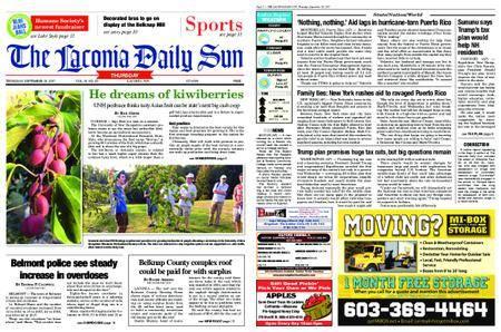 The Laconia Daily Sun – September 28, 2017