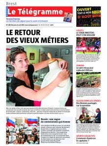 Le Télégramme Landerneau - Lesneven – 11 août 2019