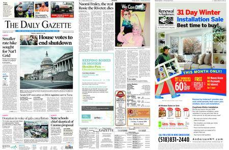 The Daily Gazette – January 23, 2018