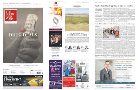 The Globe and Mail – October 20, 2018