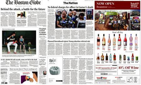 The Boston Globe – July 17, 2019