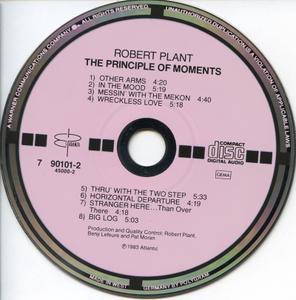 Robert Plant - The Principle Of Moments (1983) [Es Paranza 790 101-2, Germany, Target СD]