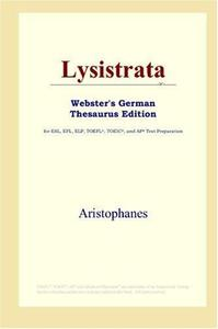 Lysistrata (Webster's German Thesaurus Edition)