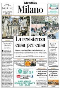 la Repubblica Milano - 9 Marzo 2020