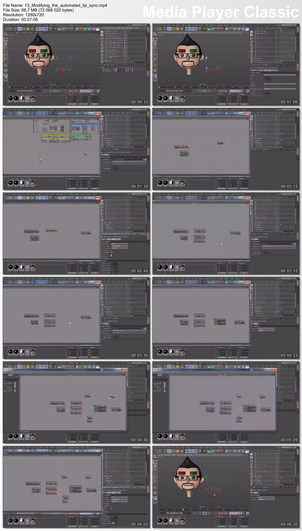 Digital-Tutors - Creating a Flexible Lip Syncing Rig in CINEMA 4D