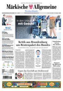 Märkische Allgemeine Westhavelländer - 14. Juli 2018