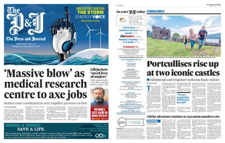 The Press and Journal Moray – August 03, 2020