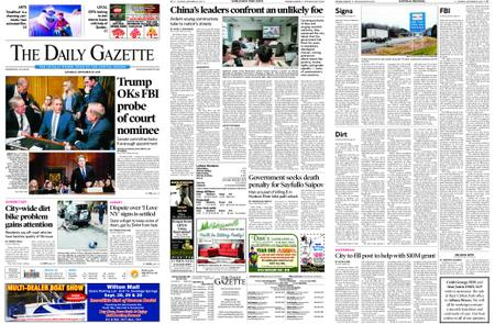 The Daily Gazette – September 29, 2018
