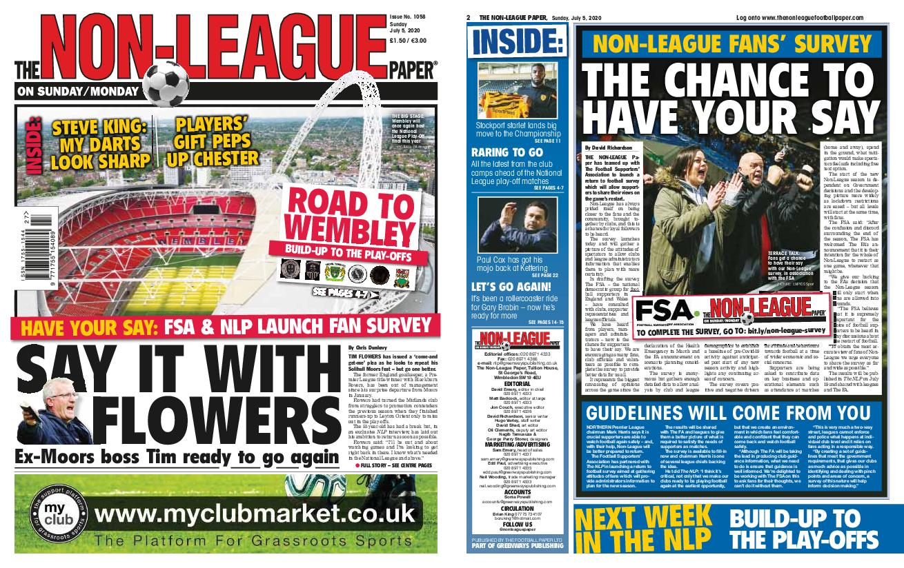 The Non-league Football Paper – July 05, 2020
