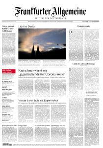 Frankfurter Allgemeine Zeitung - 18 März 2021