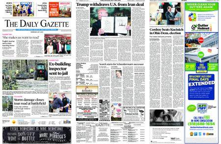 The Daily Gazette – May 09, 2018