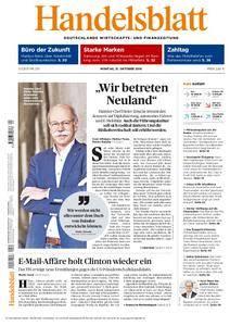 Handelsblatt - 31. Oktober 2016