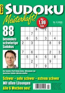 Sudoku Meisterhaft - Nr.5 2020