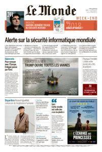 Le Monde du Samedi 6 Janvier 2018