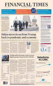 Financial Times Asia - January 15, 2021