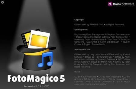 Boinx FotoMagico Pro 5.2.2 Multilingual MacOSX