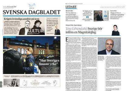 Svenska Dagbladet – 26 november 2017