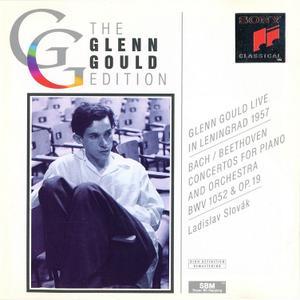 Glenn Gould Live in Leningrad 1957 - Bach: Piano Concerto BWV 1052; Beethoven: Piano Concerto Op.19 (1993)