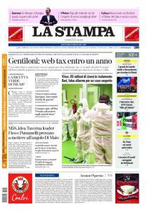 La Stampa Torino Provincia e Canavese - 24 Gennaio 2020
