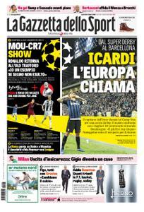 La Gazzetta dello Sport Roma – 23 ottobre 2018