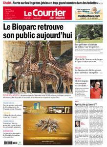 Le Courrier de l'Ouest Cholet – 16 mai 2020