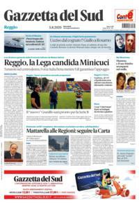Gazzetta del Sud Reggio Calabria - 5 Agosto 2020