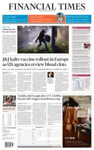 Financial Times Middle East - April 14, 2021