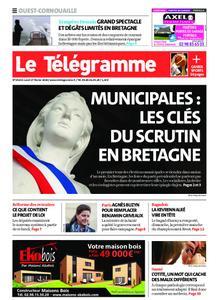 Le Télégramme Ouest Cornouaille – 17 février 2020
