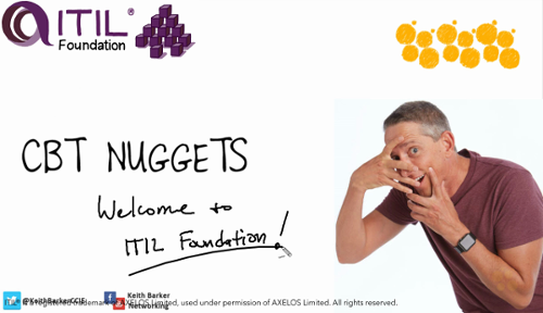 CBTnuggets - ITIL Foundation by Keith Barker