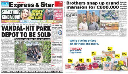 Express and Star Sandwell Edition – May 12, 2018